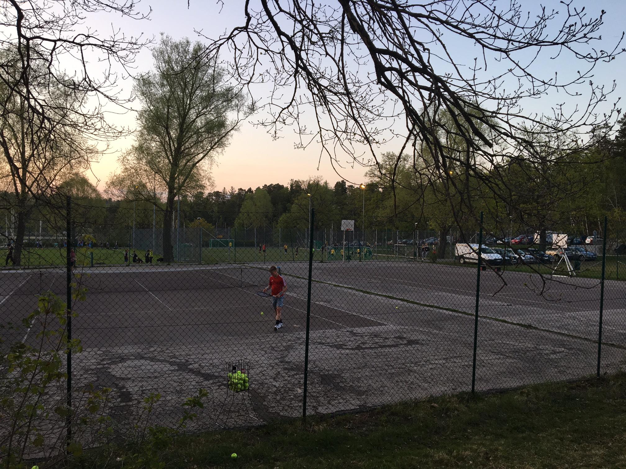Tennis i Fiskis