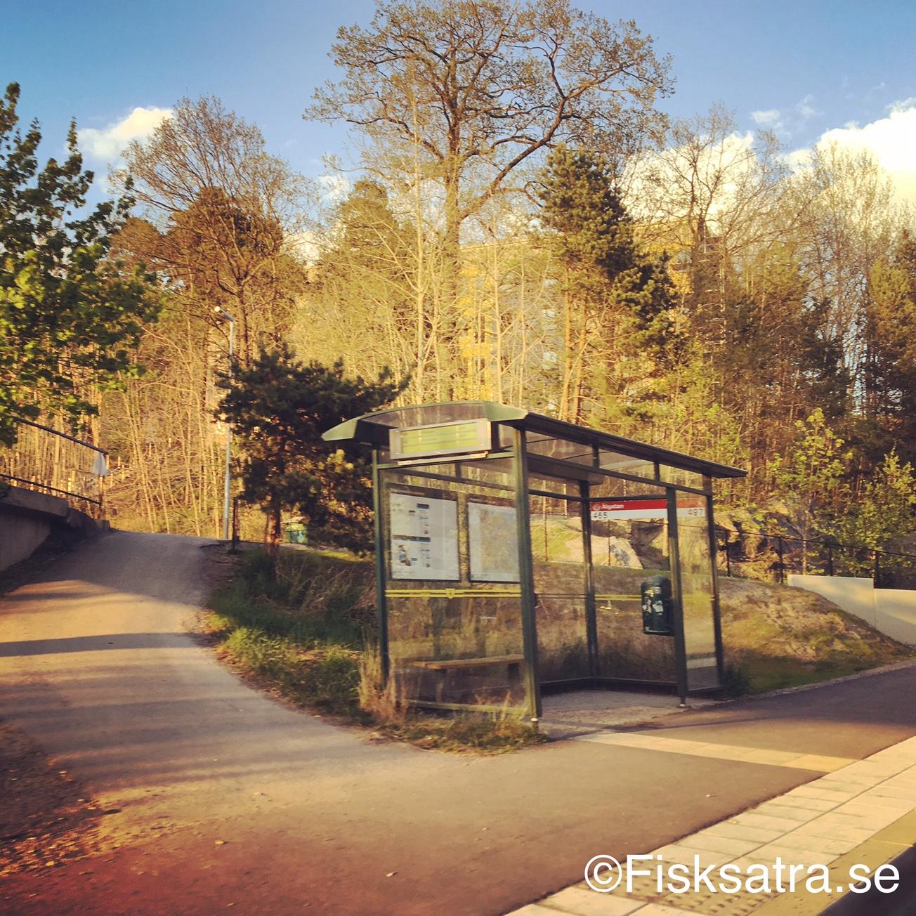 Buss istället för tåg Fisksätra