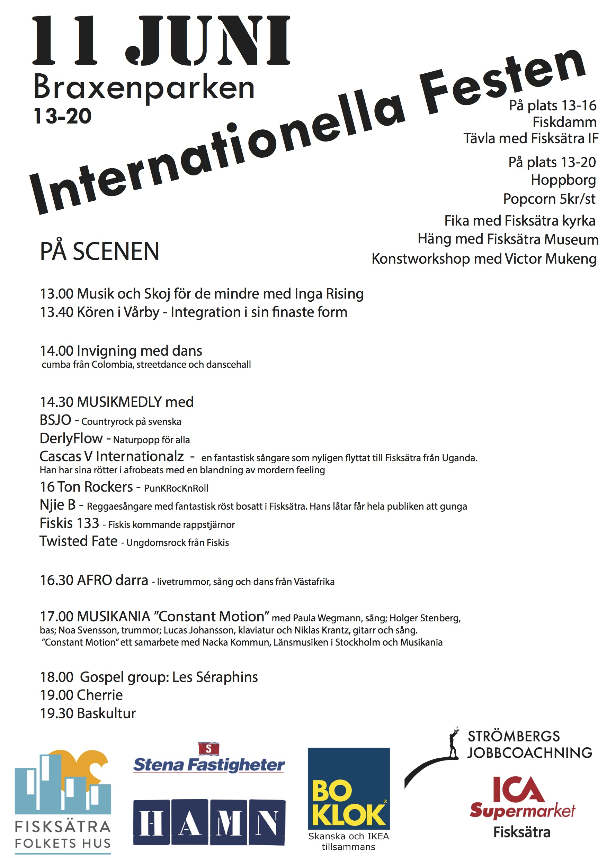 Internationella festen 2016