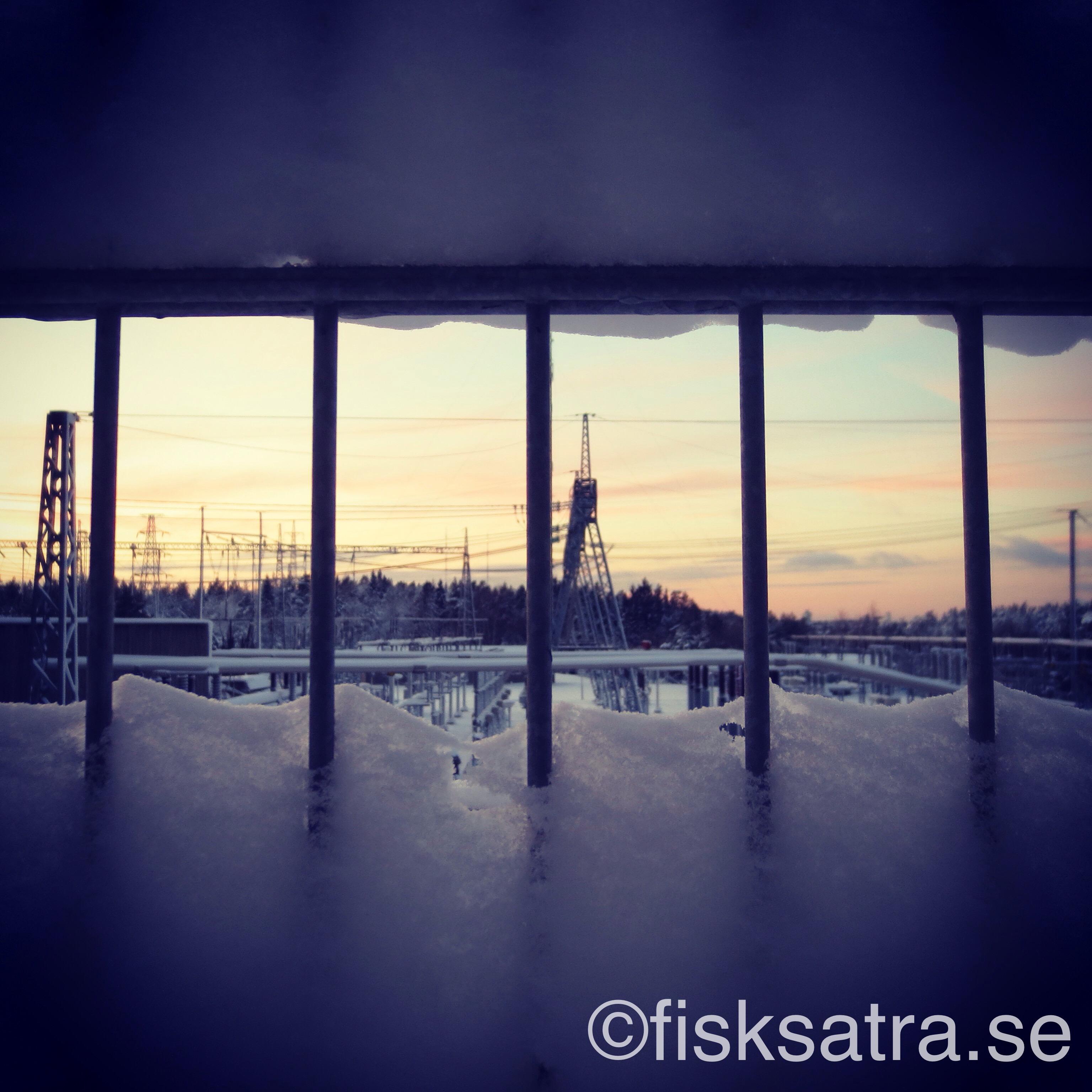 Elkraftverket vid Östervik