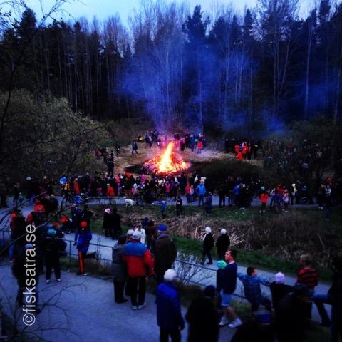 Valborg i Fisksätra, Grönadalen 2015