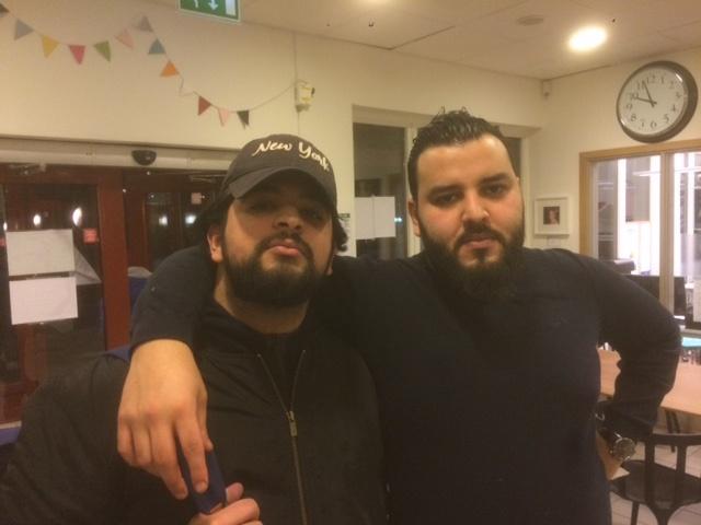 Mouadh och Hamza